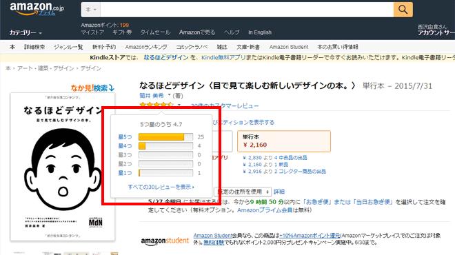 Amazonのレビュー