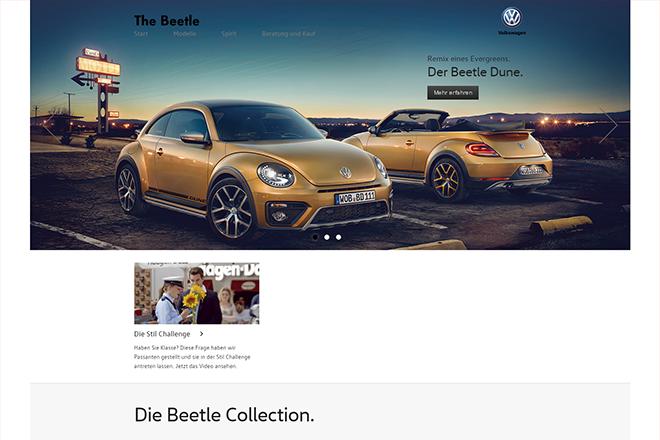 Alles zum Volkswagen Beetle.