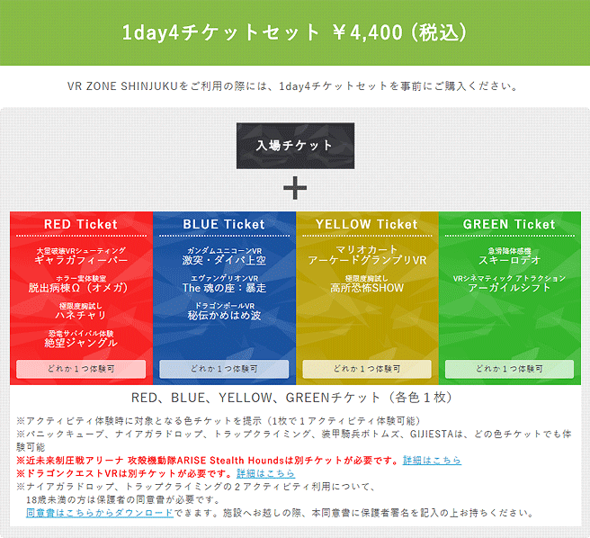 1day4チケットセット
